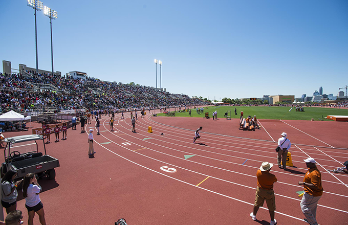 Mike A Myers Stadium And Soccer Field University Of Texas Athletics - Us-track-and-field-map-it