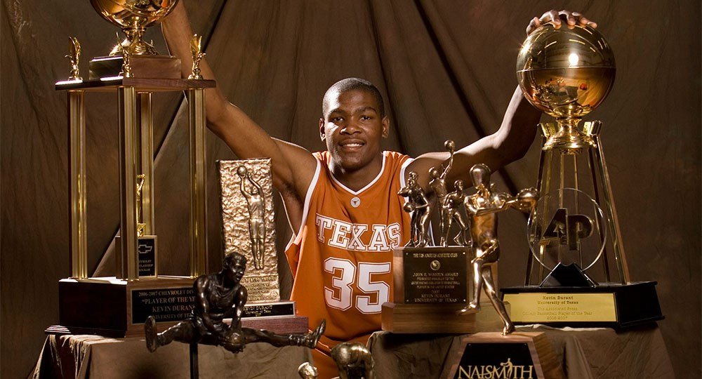 9e9a22cfff2f Kevin Durant tabbed NBA Most Valuable Player - University of Texas ...