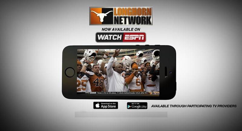 Longhorn Network now available on WatchESPN - University of