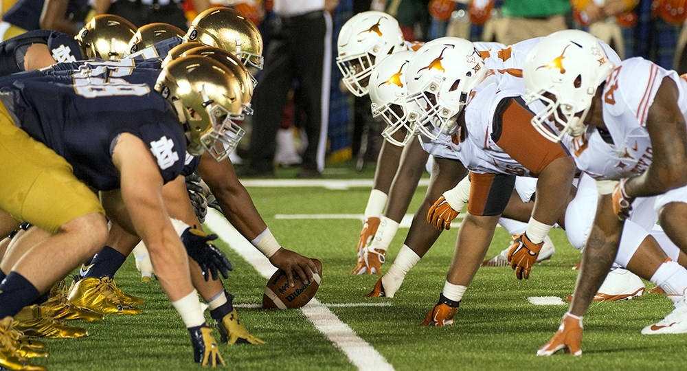 Texas-Notre Dame football game date moved to Sunday, Sept  4