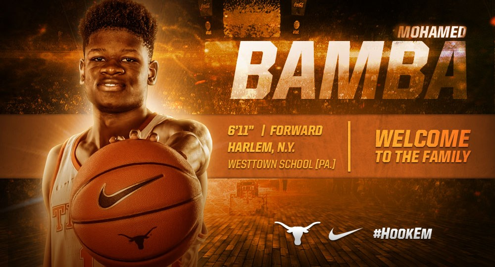 Mohamed Bamba signs with Men s Basketball - University of Texas ... c068ad1eeb76