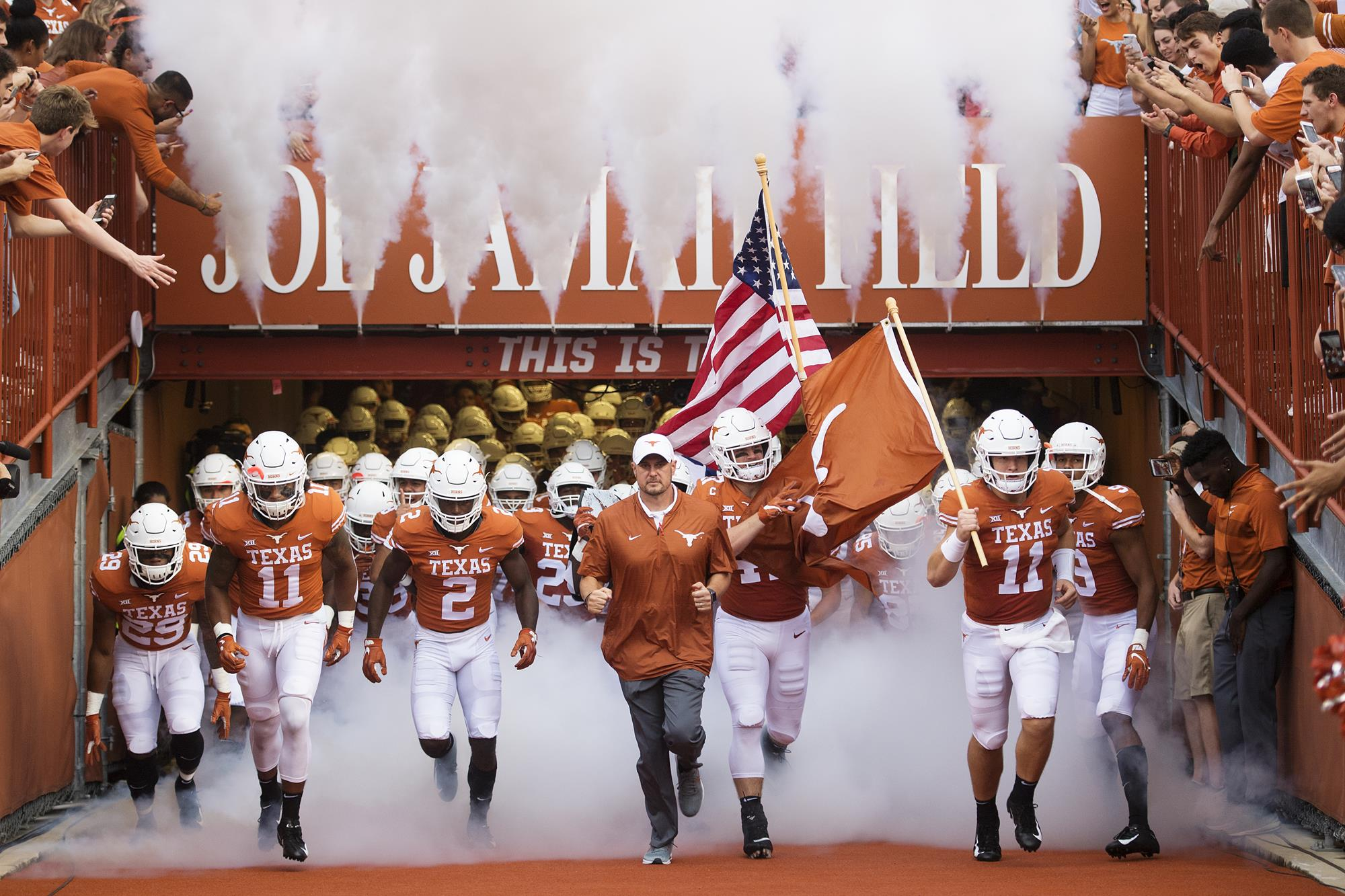 Big 12 Conference announces 2019 Football schedule - University of Texas  Athletics