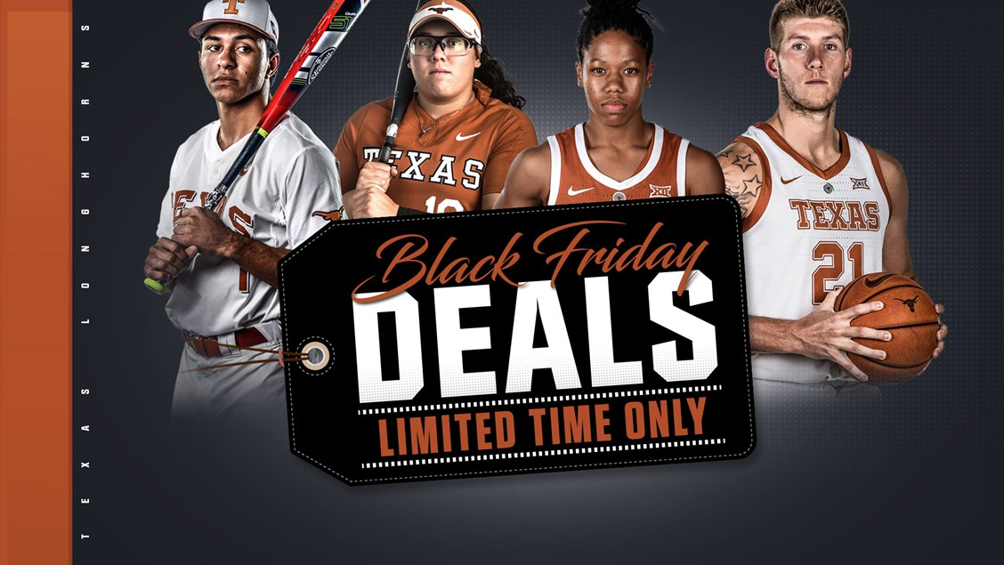 Black Friday And Cyber Monday Ticket Deals University Of Texas Athletics