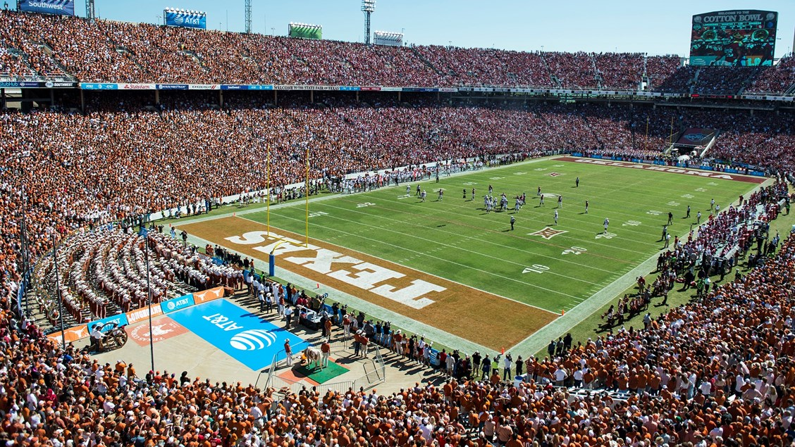 f37dde11f137 Kickoff time set for AT T Red River Showdown - University of Texas ...