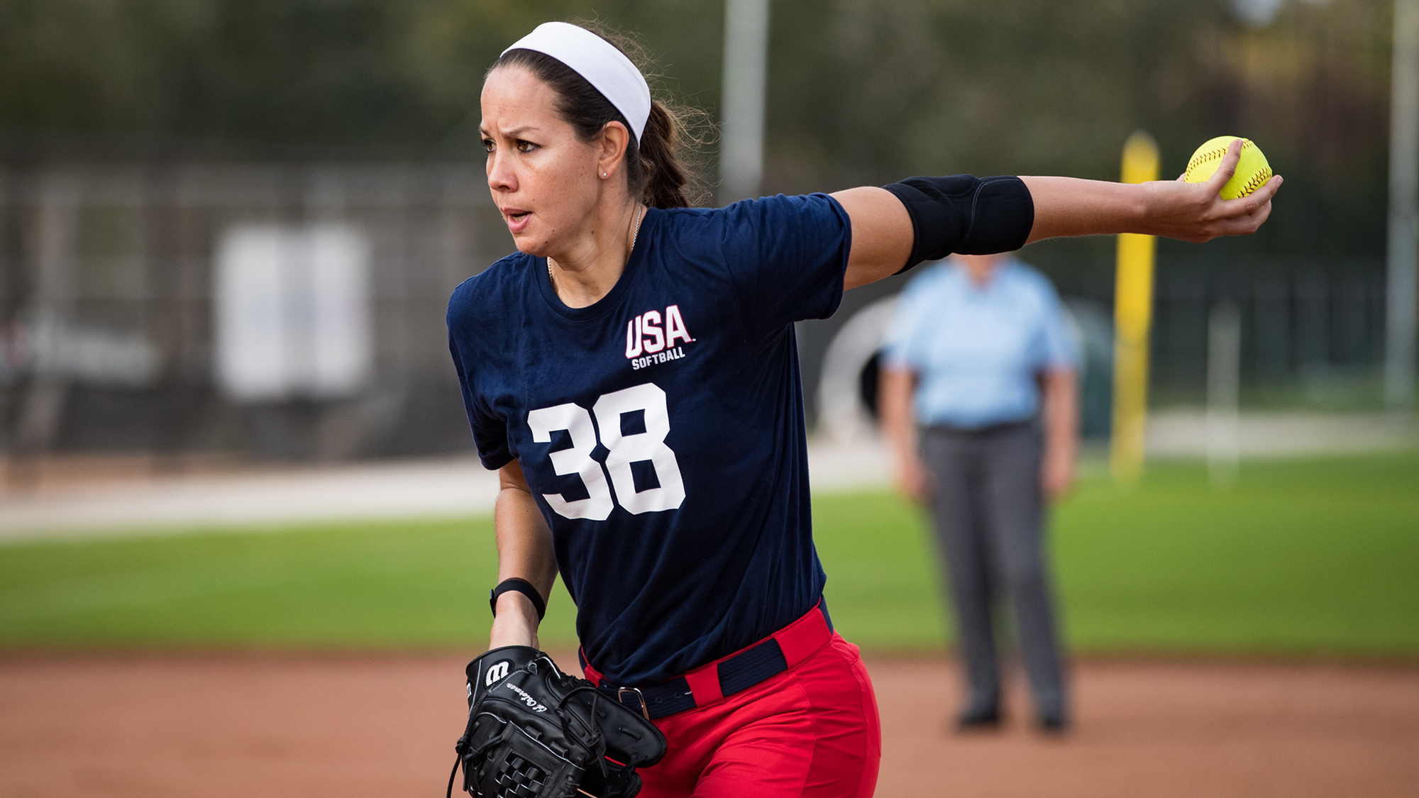 Texas-Ex Cat Osterman selected to 2019 USA Softball National