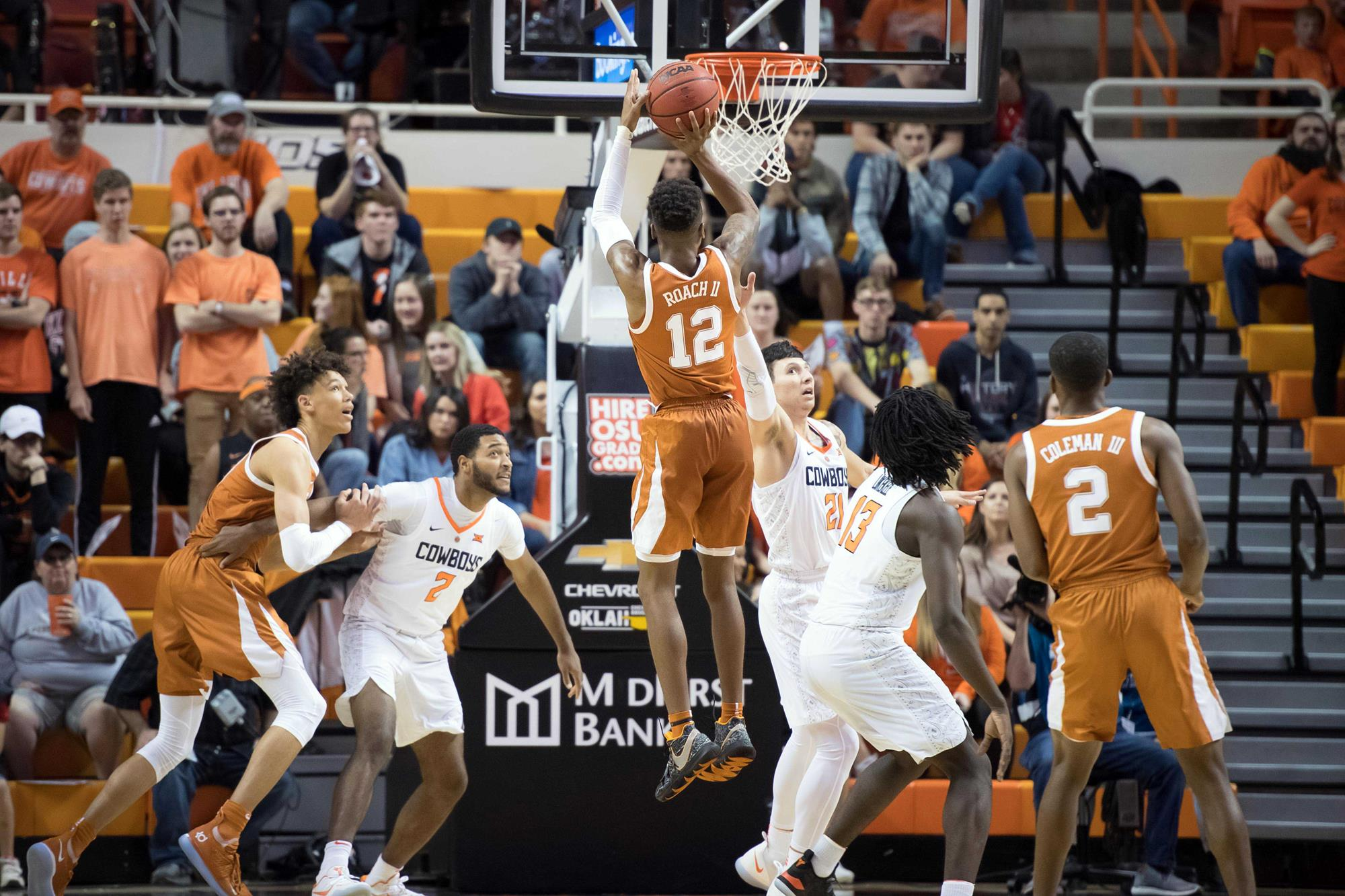 b96ea213dc4a NCAA Basketball  Texas at Oklahoma State