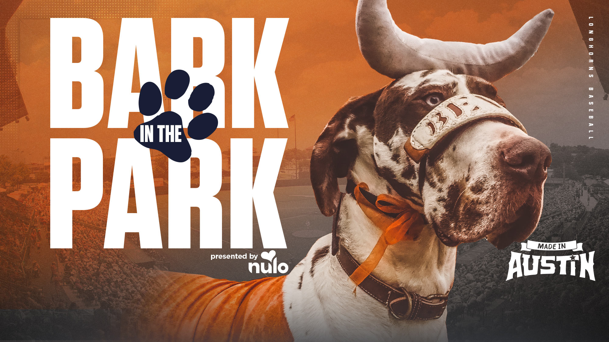 Baseball announces inaugural 'Bark in the Park' presented by