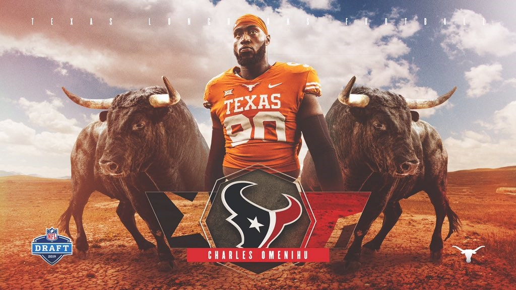 Omenihu Drafted By Houston Texans University Of Texas