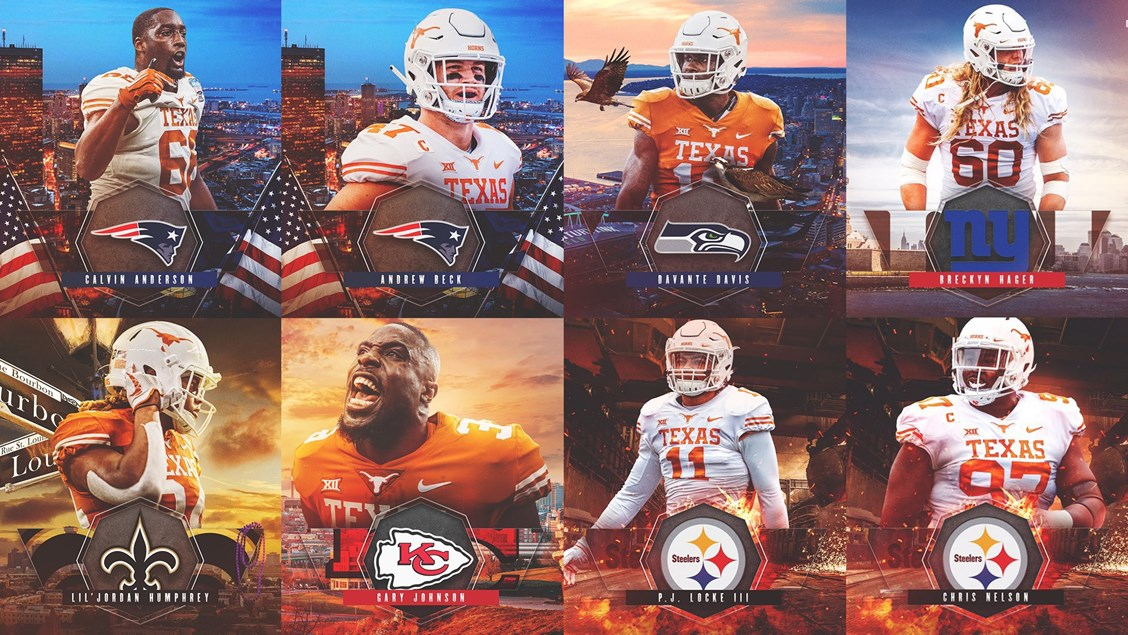 2ef2b31a Eight Longhorns sign as NFL free agents - University of Texas Athletics