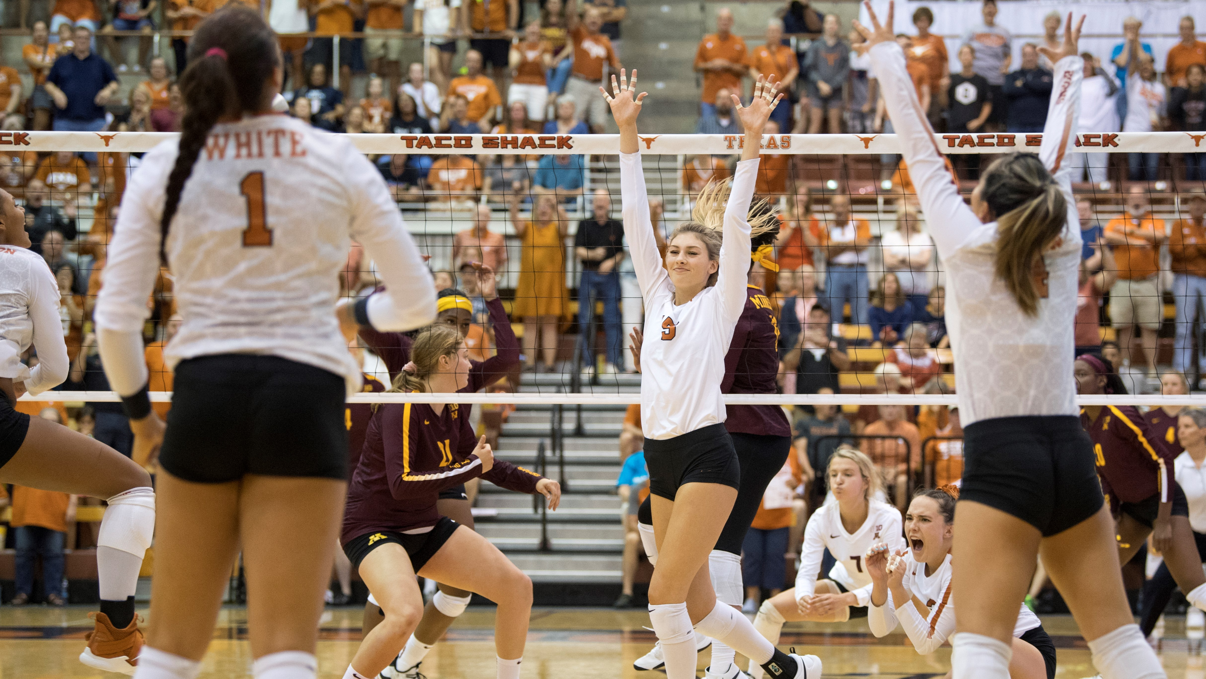 No 3 Volleyball Preview Texas A M University Of Texas Athletics